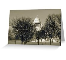 The Rhode Island State House in Providence © 2008  *featured top 3 of 21 Greeting Card