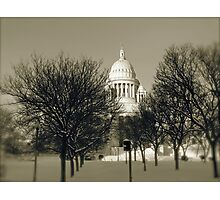 The Rhode Island State House in Providence © 2008  *featured top 3 of 21 Photographic Print