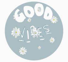 //good vibes// Baby Tee