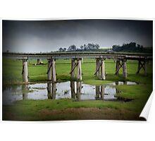 Orbost Trestle Bridge, East Gippsland Poster
