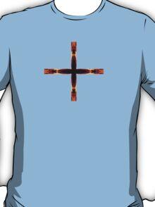 Crosses of Fire - Black T-Shirt