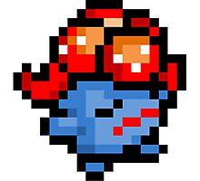 Pokemon 8-Bit Pixel Gloom 044 Photographic Print