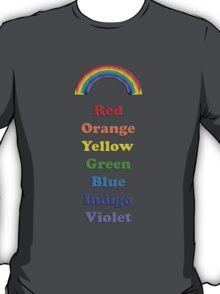 Colours of the Rainbow T-Shirt