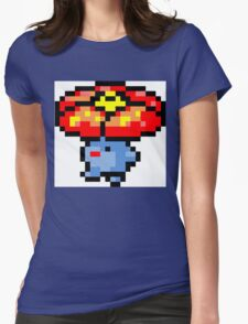 Pokemon 8-Bit Pixel Vileplume 045 Womens Fitted T-Shirt