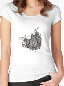Slothy Women's Fitted Scoop T-Shirt