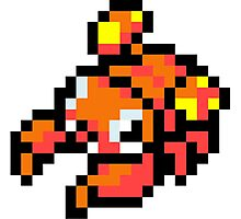Pokemon 8-Bit Pixel Para 046 Photographic Print