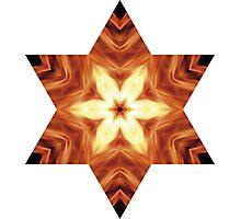Star of Faith - Burning Photographic Print