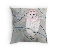 Cold Morrning Throw Pillow
