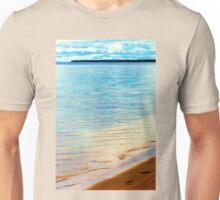 Sand Footprints Unisex T-Shirt