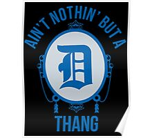 Nothin' But A D Thang - Lions Poster