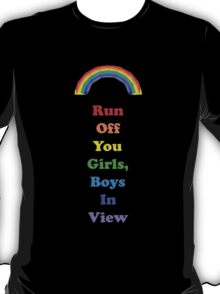 Colours of the Rainbow 5 - Run Off... T-Shirt