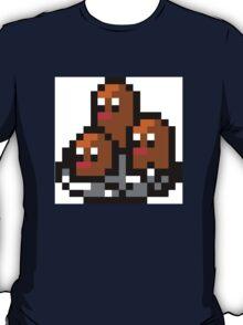 Pokemon 8-Bit Pixel Dugtrio 051 T-Shirt