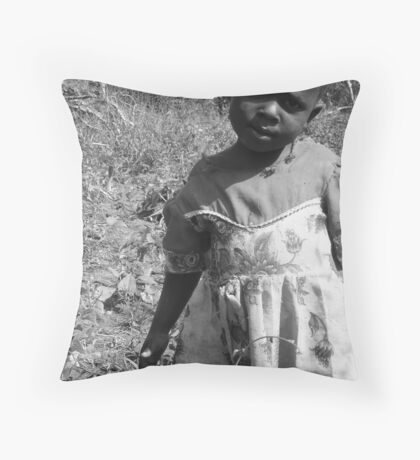 Eyes Tell Throw Pillow