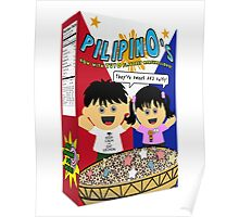 PilipinOs Cereal Box Poster