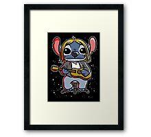 Space grunge Framed Print