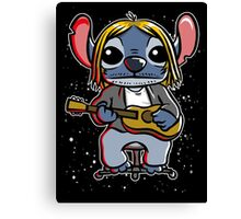 Space grunge Canvas Print
