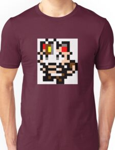 Pokemon 8-Bit Pixel Meowth 052 Unisex T-Shirt