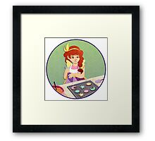 Magical Girl Cookies Framed Print