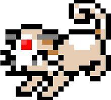 Pokemon 8-Bit Pixel Persian 053 by slr06002