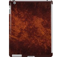 Vintage stained cloth sheet texture  iPad Case/Skin