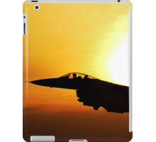Flying Military Jet, HD Photograph iPad Case/Skin