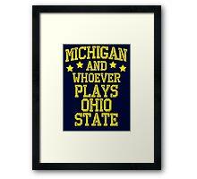 Michigan #1 Framed Print