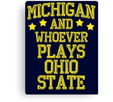Michigan #1 Canvas Print