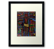 THE CROSS 3 Framed Print