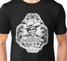 Hank Williams portrait tee Unisex T-Shirt