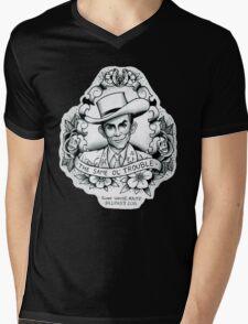 Hank Williams portrait tee Mens V-Neck T-Shirt
