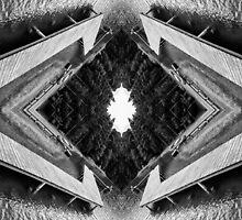 Zigzag Pier Illusion C by Yevgeni Kacnelson