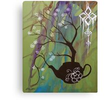 Tea Blossom Canvas Print