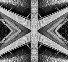 Zigzag Pier Illusion B by Yevgeni Kacnelson