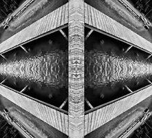 Zigzag Pier Illusion A by Yevgeni Kacnelson
