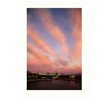 Perth City Skyscape Art Print