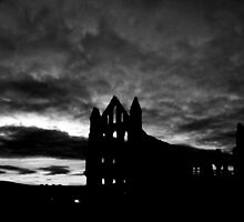 whitby abbey mono by jon  daly
