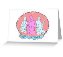 GTA Bros b4 Hoes Greeting Card
