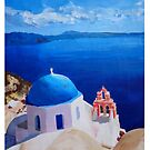 Santorini, Greece - View from Oia by artshop77