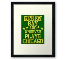Green Bay #1 Framed Print