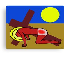 THE ROAD TO CALVARY Canvas Print