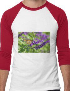 Butterfly 2 Men's Baseball ¾ T-Shirt