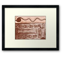 FIVE LOAVES AND TWO FISH 2 Framed Print
