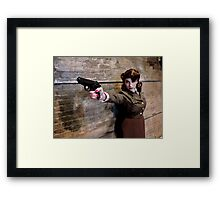 Tanya Wheelock as Peggy Carter (Photography by Misty Autumn Imagery) Framed Print