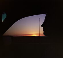 sunset drive by izzif