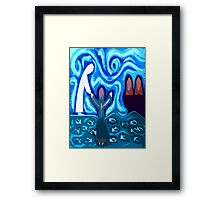 WALKING ON WATER 2 Framed Print