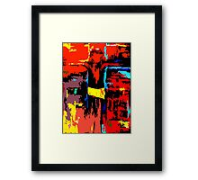 THE CROSS 6 Framed Print