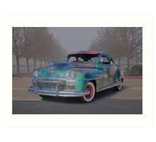1947 DeSoto Custom Coupe Art Print