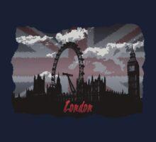 Black London Kids Tee