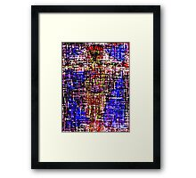 THE CROSS 7 Framed Print
