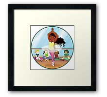 Elle's Dance Framed Print